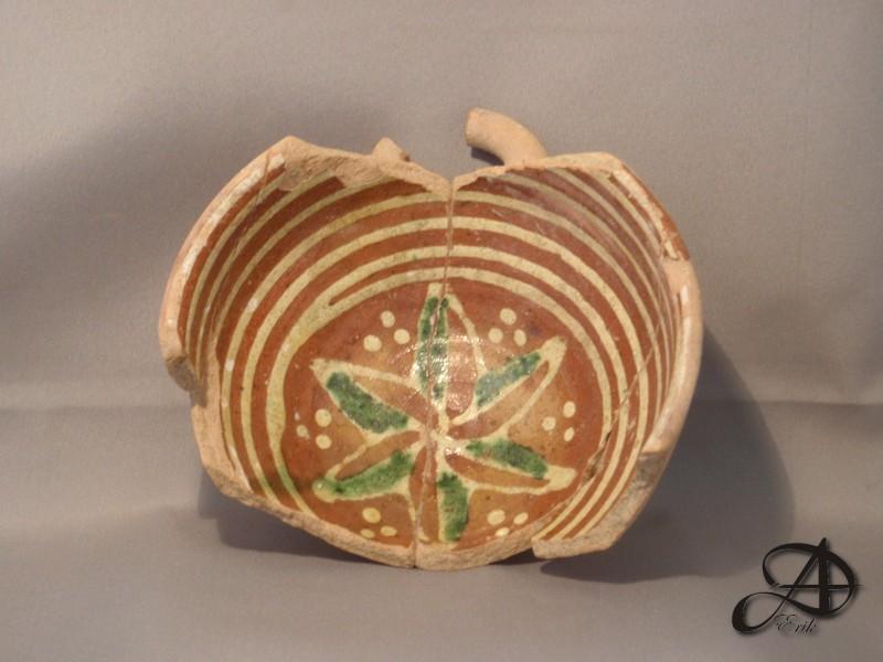 Fragment kom, eind 16e eeuw