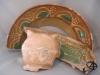 Diverse fragmenten slib, 17e & 18e eeuw